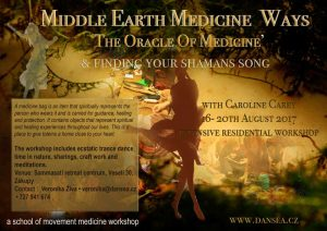 The Oracle Of Medicine (& finding your shamans song) Now Fully booked @ Sammasati retreat centrum, Veselí 30, Zákupy