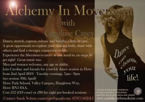 Alchemy In Movement - dance evenings @ Hove Park School, Valley Campus,