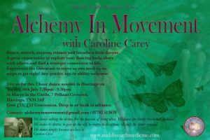 Alchemy In Movement - Hastings @ St Marys in the Castle
